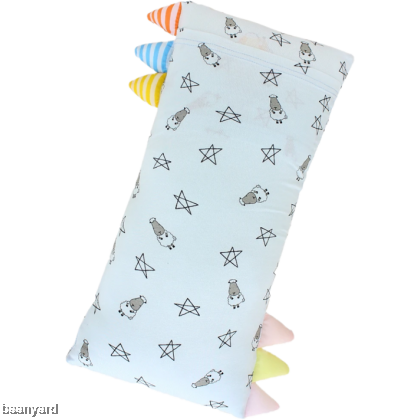 Bed-Time Buddy Small Star & Sheepz Blue with Color & Stripe tag - Medium