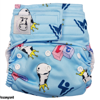 Cloth Diaper One Size Aplix - Swim