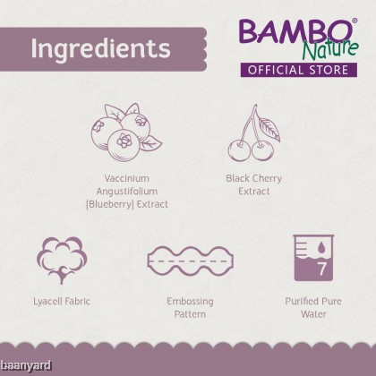 Bambo Nature Dream BNG Wet Wipes (72pcs)
